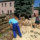 Farský úrad - príprava na zimu - 29. júla