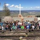 Púť birmovancov na horu Butkov - apríl_16